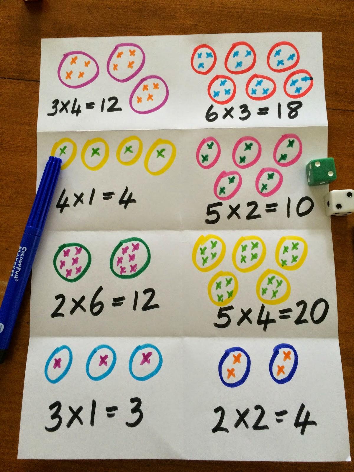 Fun Games 4 Learning Multiplication Fun